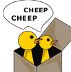 Cheep Cheep Boxes logo icon