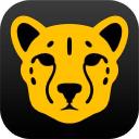 Cheetah3 D logo icon