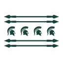 Chicago Spartans logo icon