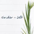 Cinder + Salt Logo