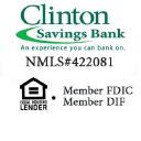 Clinton Savings Bank logo