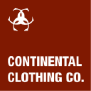 Continental Clothing Co logo icon