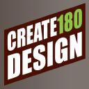 Create180 Design logo icon