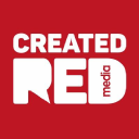 Created Red Media logo icon