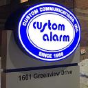 Custom Alarm/CCi logo