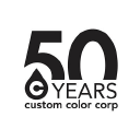 Custom Color Corp logo