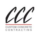 Custom Concrete Contracting, Inc. logo