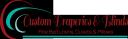 Custom Draperies, Blinds, Bedding and Home Decor logo