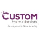 Custom Pharmaceuticals logo
