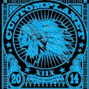 Custom Planet logo icon