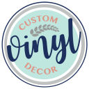 CustomVinylDecor.com logo