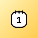 Cute Calendar logo icon