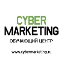 Cybermarketing logo icon