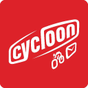 Cycloon Post en Fietskoeriers logo