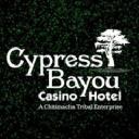 Cypress Bayou Casino Hotel logo