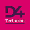 D4 Digital logo icon