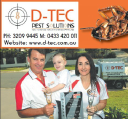 D-Tec Pest Solutions logo