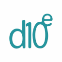 D10e logo icon