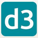 D3con logo icon