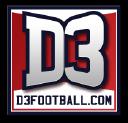 D3football logo icon