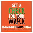 Damaged Cars logo icon