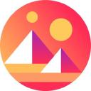 Decentraland logo icon