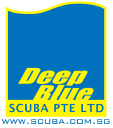 Deep Blue Scuba logo icon