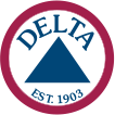 Delta Apparel logo icon