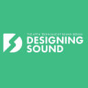 Designing Sound logo icon