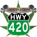 Destination Hwy 420 logo icon
