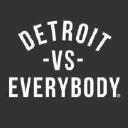 Mens Detroit Vs Everybody logo icon