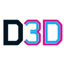 Develop3 D logo icon