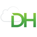 Dh Tech logo icon