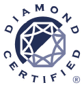 Diamond Certified logo icon