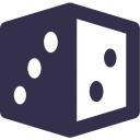 Diceland logo icon
