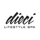 Dieci Lifestyle Spa logo icon