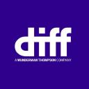 Diff logo icon