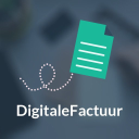 Digitalefactuur logo icon