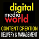 Digital Media World logo icon