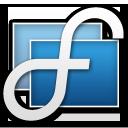 Display Fusion logo icon