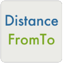 Distance From To logo icon