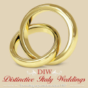Distinctive Italy Weddings logo icon
