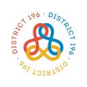 District 196 logo icon