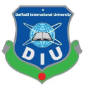 Daffodil International University logo icon