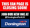 Donington Park logo icon