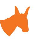 Donkey logo icon