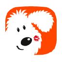 Doodle Kisses logo icon