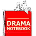 Drama Notebook logo icon