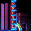 Drexel Theater logo icon