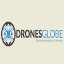 Drones Globe logo icon